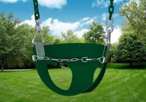 Gorilla Playsets Half Bucket Toddler Swing