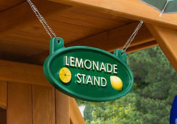 Gorilla Playsets Lemonade Sign