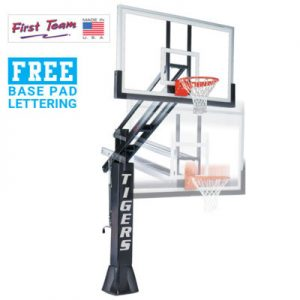 Titan Arena In Ground Adjustable Basketball Goal